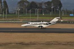 kumagorouさんが、鹿児島空港で撮影した安藤商会 525A Citation CJ2の航空フォト(写真)