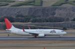 kumagorouさんが、長崎空港で撮影したJALエクスプレス 737-846の航空フォト(写真)
