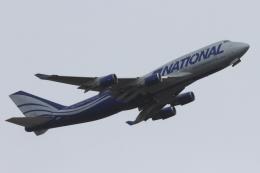 RCH8607さんが、横田基地で撮影したナショナル・エアラインズ 747-428(BCF)の航空フォト(飛行機 写真・画像)