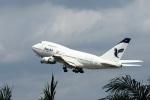 かみゅんずさんが、クアラルンプール国際空港で撮影したイラン航空 747SP-86の航空フォト(写真)
