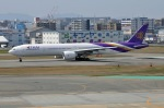 Cipher01さんが、福岡空港で撮影したタイ国際航空 777-3D7/ERの航空フォト(写真)