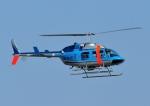 じーく。さんが、茨城空港で撮影した茨城県警察 206L-4 LongRanger IVの航空フォト(飛行機 写真・画像)