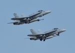 じーく。さんが、茨城空港で撮影したアメリカ海兵隊 F/A-18 Hornetの航空フォト(飛行機 写真・画像)