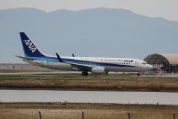 おふろうどさんが、岩国空港で撮影した全日空 737-881の航空フォト(飛行機 写真・画像)