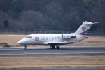tsubasa0624さんが、成田国際空港で撮影した中一航空 CL-600-2B16 Challenger 604の航空フォト(飛行機 写真・画像)