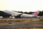 tsubasa0624さんが、成田国際空港で撮影したチャイナエアライン 747-409の航空フォト(写真)