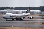 tsubasa0624さんが、成田国際空港で撮影したシンガポール航空カーゴ 747-412F/SCDの航空フォト(飛行機 写真・画像)