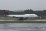 ATOMさんが、成田国際空港で撮影したデルタ航空 747-451の航空フォト(写真)
