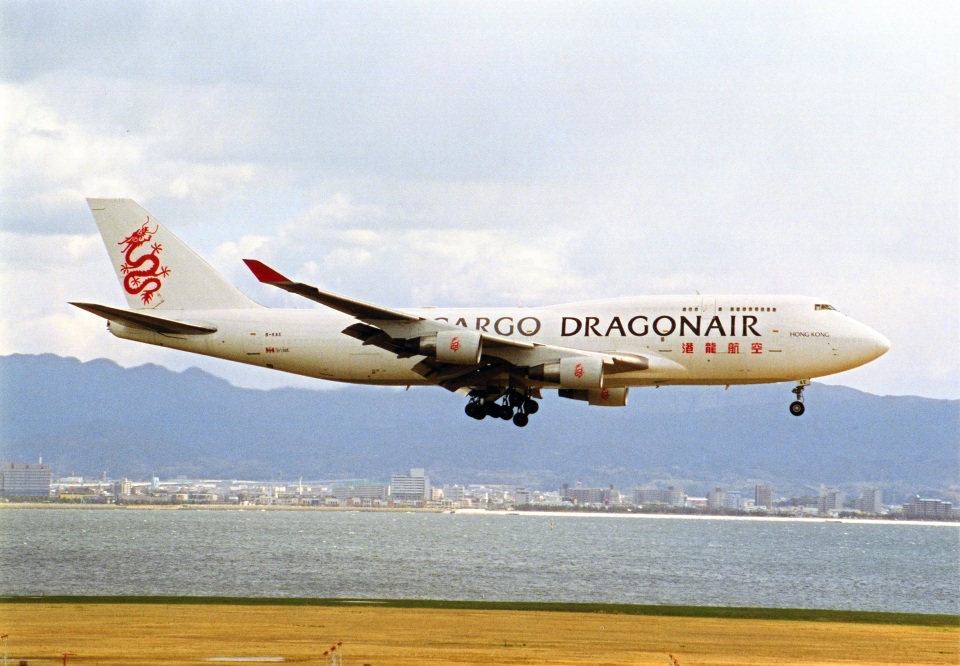 amagoさんの香港ドラゴン航空 Boeing 747-400 (B-KAE) 航空フォト