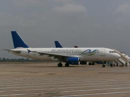 michi2さんが、シェムリアップ国際空港で撮影したスカイ・アンコール・エアラインズ A320-214の航空フォト(飛行機 写真・画像)