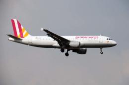 まいけるさんが、ロンドン・ヒースロー空港で撮影したジャーマンウィングス A320-211の航空フォト(飛行機 写真・画像)