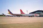 ATOMさんが、帯広空港で撮影したJALエクスプレス 737-446の航空フォト(飛行機 写真・画像)