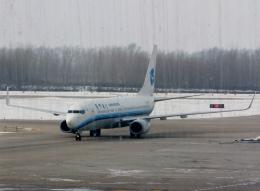 東方亜州さんが、長春龍嘉国際空港で撮影した厦門航空 737-86Nの航空フォト(飛行機 写真・画像)