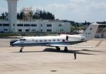 東方亜州さんが、那覇空港で撮影した航空自衛隊 U-4 Gulfstream IV (G-IV-MPA)の航空フォト(写真)