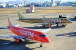 t-hideさんが、名古屋飛行場で撮影したフジドリームエアラインズ ERJ-170-200 (ERJ-175STD)の航空フォト(写真)