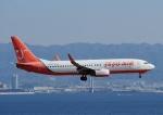 じーく。さんが、関西国際空港で撮影したチェジュ航空 737-86Jの航空フォト(飛行機 写真・画像)