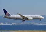じーく。さんが、関西国際空港で撮影したユナイテッド航空 787-8 Dreamlinerの航空フォト(写真)