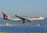 じーく。さんが、関西国際空港で撮影したカタール航空 A330-202の航空フォト(写真)