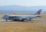 じーく。さんが、関西国際空港で撮影したカーゴルクス・イタリア 747-4R7F/SCDの航空フォト(飛行機 写真・画像)