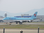 わたくんさんが、福岡空港で撮影した大韓航空 747-4B5の航空フォト(写真)