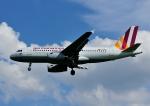 じーく。さんが、ハンブルク空港で撮影したジャーマンウィングス A319-132の航空フォト(飛行機 写真・画像)