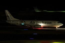 masa707さんが、成田国際空港で撮影したエア・インチョン 737-4Y0/SFの航空フォト(飛行機 写真・画像)