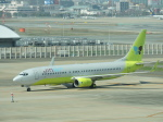 わたくんさんが、福岡空港で撮影したジンエアー 737-8Q8の航空フォト(写真)