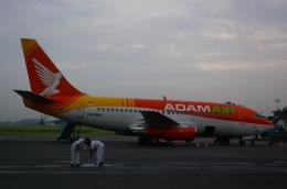nick.hiroshiさんが、アジスチプト国際空港で撮影したアダム航空 737-291/Advの航空フォト(飛行機 写真・画像)