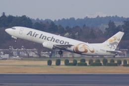 PASSENGERさんが、成田国際空港で撮影したエア・インチョン 737-4Y0/SFの航空フォト(飛行機 写真・画像)