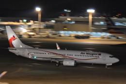 Korean Air KEさんが、成田国際空港で撮影したニューギニア航空 737-86Qの航空フォト(飛行機 写真・画像)
