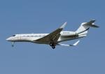 じーく。さんが、福岡空港で撮影したウィルミントン・トラスト・カンパニー G650 (G-VI)の航空フォト(飛行機 写真・画像)
