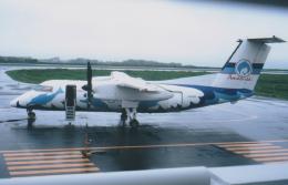 kumagorouさんが、天草飛行場で撮影した天草エアライン DHC-8-103Q Dash 8の航空フォト(写真)