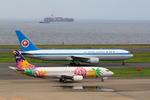 ふじいあきらさんが、羽田空港で撮影したスカイネットアジア航空 737-4M0の航空フォト(写真)