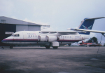 kumagorouさんが、セレター空港で撮影したナショナル・エア・チャーターズ BAe-146-100の航空フォト(飛行機 写真・画像)
