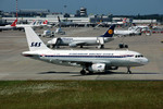 デュッセルドルフ国際空港 - Dusseldorf International Airport [DUS/EDDL]で撮影されたスカンジナビア航空 - Scandinavian Airlines System [SK/SAS]の航空機写真