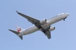 ANA744Foreverさんが、羽田空港で撮影した日本航空 737-846の航空フォト(写真)
