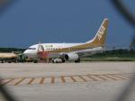 アドリア海さんが、下地島空港で撮影した全日空 737-781の航空フォト(写真)