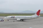 kumagorouさんが、岡山空港で撮影した日本トランスオーシャン航空 737-4K5の航空フォト(写真)