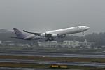 ちょびさんが、成田国際空港で撮影したタイ国際航空 A340-642の航空フォト(写真)