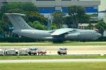 RUSSIANSKIさんが、シンガポール・チャンギ国際空港で撮影したインド空軍 Il-76MD Gajarajの航空フォト(飛行機 写真・画像)