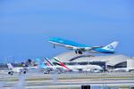 Flying Elvisさんが、ロサンゼルス国際空港で撮影したKLMオランダ航空 747-406Mの航空フォト(写真)