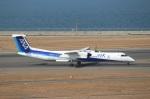 ハピネスさんが、中部国際空港で撮影したANAウイングス DHC-8-402Q Dash 8の航空フォト(飛行機 写真・画像)