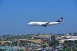 Flying Elvisさんが、ロサンゼルス国際空港で撮影したルフトハンザドイツ航空 747-830の航空フォト(写真)