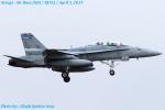 Chofu Spotter Ariaさんが、厚木飛行場で撮影したアメリカ海兵隊 F/A-18D Hornetの航空フォト(写真)