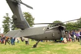 たまさんが、キャンプ座間で撮影したアメリカ陸軍 UH-60L Black Hawk (S-70A)の航空フォト(飛行機 写真・画像)