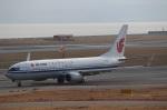 ハピネスさんが、関西国際空港で撮影した中国国際航空 737-89Lの航空フォト(飛行機 写真・画像)