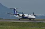 kumagorouさんが、松山空港で撮影したエアーニッポンネットワーク DHC-8-314Q Dash 8の航空フォト(写真)