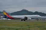 kumagorouさんが、松山空港で撮影したアシアナ航空 A321-231の航空フォト(写真)