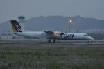 kumagorouさんが、松山空港で撮影した日本エアコミューター DHC-8-402Q Dash 8の航空フォト(写真)