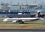 じーく。さんが、羽田空港で撮影したシンガポール航空 777-212/ERの航空フォト(飛行機 写真・画像)